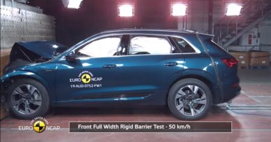 Audi e-tron euro ncap crash test